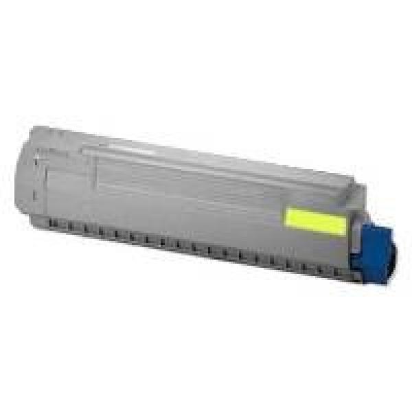 OKI Toner Cartridge For Mc852 Yellow 7000 Pages 44643021