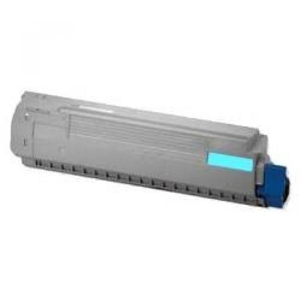 OKI Toner Cartridge For Mc852 Cyan 7000 Pages 44643023