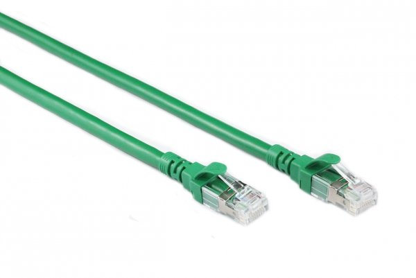 Generic 0.3m Green Cat6a Sstp/sftp Cable (CB-C6A-0.3GRN)