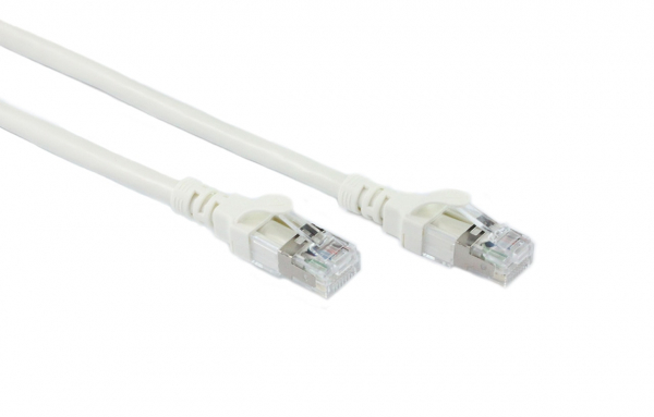 Generic 0.3m White Cat6a Sstp/sftp Cable (CB-C6A-0.3WHT)