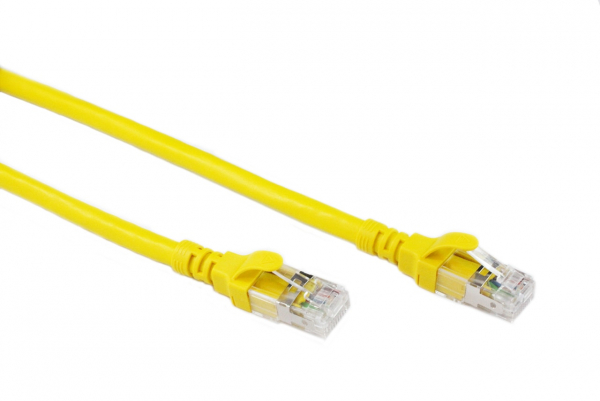 Generic 0.3m Yellow Cat6a Sstp/sftp Cable (CB-C6A-0.3YEL)