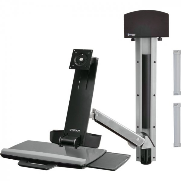 ERGOTRON Sv Sit Stand Combo Arm No Worksurface 45-266-026