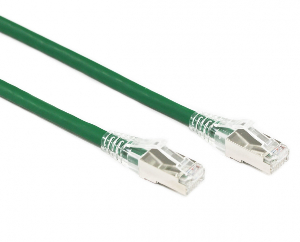 Generic 1.5m Green Cat6a Sftp Cable Lszh ( Component Test ) (CB-LZC6A-1.5GRN)