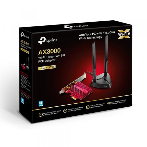 Tplink Tp-link Archer Tx3000e Wifi-6 Wireless Dual Band Pci Express Adap (ARCHER-TX3000E)
