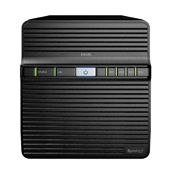 "Synology Diskstation Ds420j 4-bay 3.5"" Diskless 1xgbe Nas Rea (DS420J)"