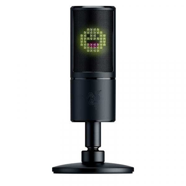 Razer Seiren Emote - Microphone With Emoticons - Frml Pkg (RZ19-03060100)