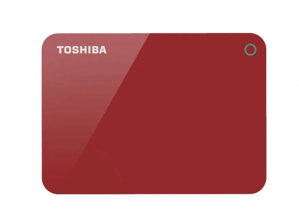 Toshiba 4tb Canvio Advance Portable Hard Drive Storage Red. 3 Years Warra (HDTC940AR3CA)