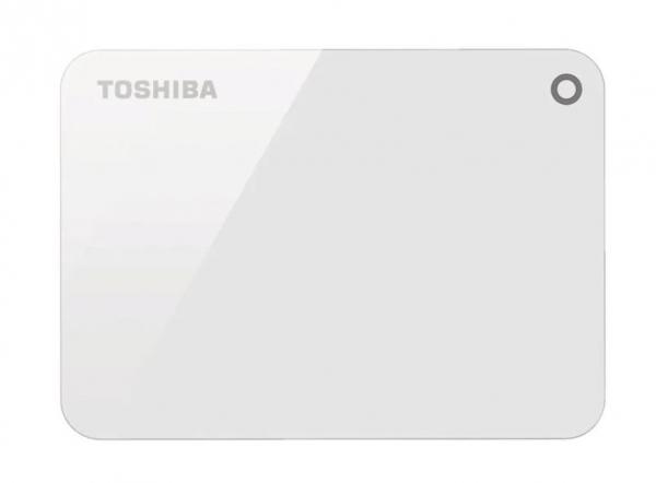 Toshiba 4tb Canvio Advance Portable Hard Drive Storage White. 3 Years War (HDTC940AW3CA)