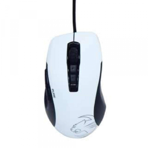 Roccat Roccat Kone Pure Owl-eye Optical Rgb Gaming Mouse - Black & White (ROC-11-725-WE-AS)