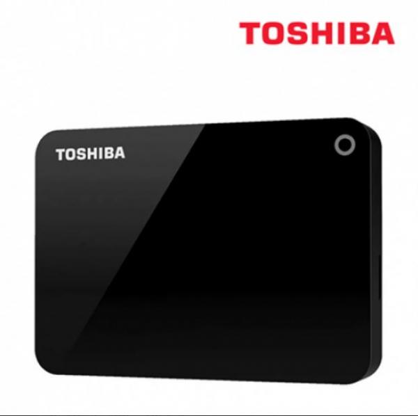 Toshiba 4tb Canvio Advance Portable Hard Drive Storage Black. 3 Years War (HDTC940AK3CA)