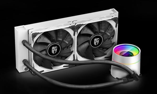 Deepcool Deepcool Castle 240ex White Cpu Liquid Cooler Intel Lga20xx/1151/ (CASTLE 240EX WHITE)