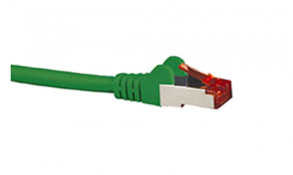 Hypertec Cat6a Shielded Cable 0.5m Green Color 10gbe Rj45 Ethernet Network (HCAT6AGN0.5)
