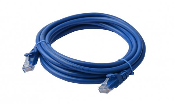 8ware 8ware Cat6a Utp Ethernet Cable 30m Snaglessblue (PL6A-30BLU)