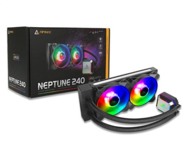 Antec Neptune 240 Argb Advanced Liquid Cpu Cooler Pwm Led Fan Ptfe Tubi (NEPTUNE-240ARGB)