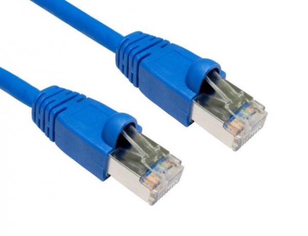 Hypertec Cat6a Shielded Cable 3m Blue Color 10gbe Rj45 Ethernet Network La (HCAT6ABL3)