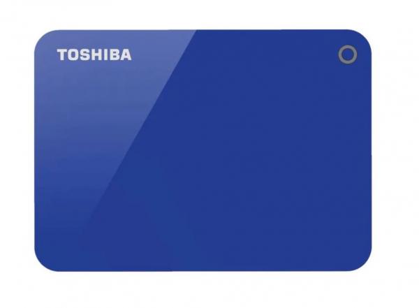 Toshiba 4tb Canvio Advance Portable Hard Drive Storage Blue. 3 Years Warr (HDTC940AL3CA)