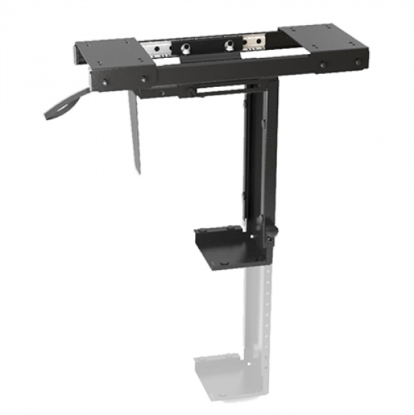 Brateck Adjustable Under-desk Cpu Mount With Sliding Track Up To 10kg360  (CPB-5)