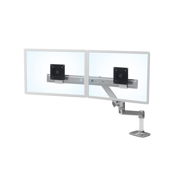 ERGOTRON Lx Desk Dual Direct Arm Polished ( 45-489-026