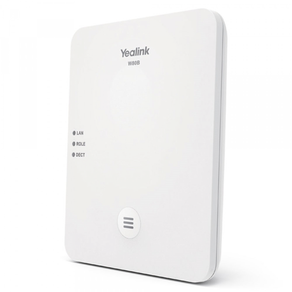 Yealink Wireless Dect Solution Including Works With W56h & W53h (W80B)