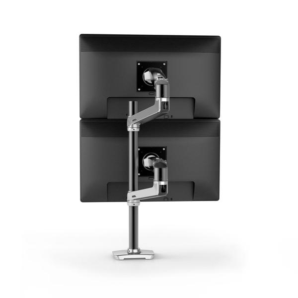 ERGOTRON Lx Dual Stacking Arm Tall Pole Black 45-549-026