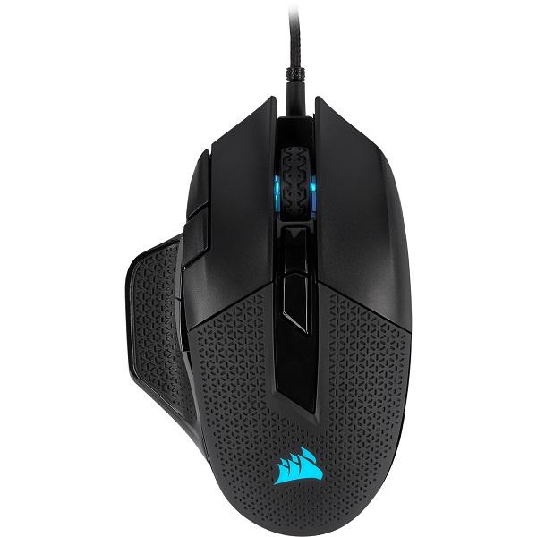 Corsair Nightsword Rgb Smart Tunable Fps/moba 18000 Dpi Gaming Mouse (CH-9306011-AP)