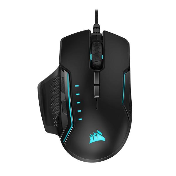 Corsair Gaming Glaive Pro Rgb Gaming Mouse - Black Backlit Rgb Led 18000  (CH-9302211-AP)