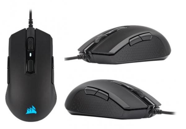 Corsair M55 Rgb Pro Ambidextrous Multi-grip Gaming Black Mouse 200-12400  (CH-9308011-AP)