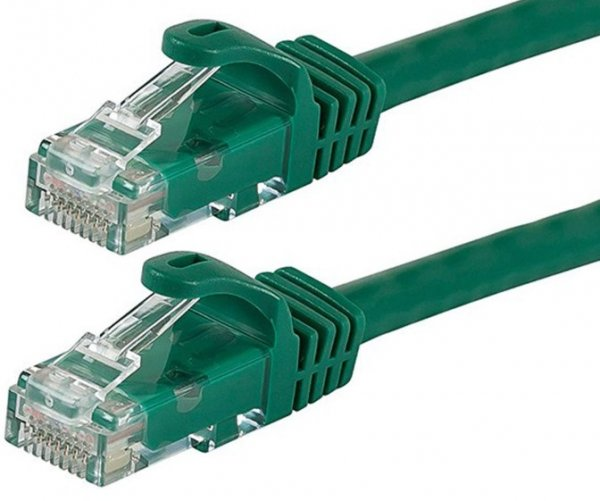 Astrotek Cat6 Cable 50cm - Green Color Premium Rj45 Ethernet Network Lan U (AT-RJ45GRNU6-05M)