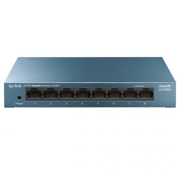 Tp-link Tp-link 8-port 10/100/1000mbps Desktop Switch (LS108G)