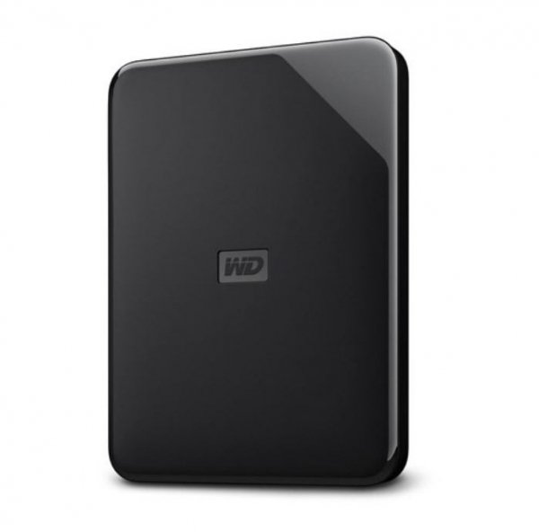 Western Digital Wd Elements 2tb Portable 2.5' Usb3.0 Win/mac Sleek Design (wdbepk (WDBEPK0020BBK-WESN-X)