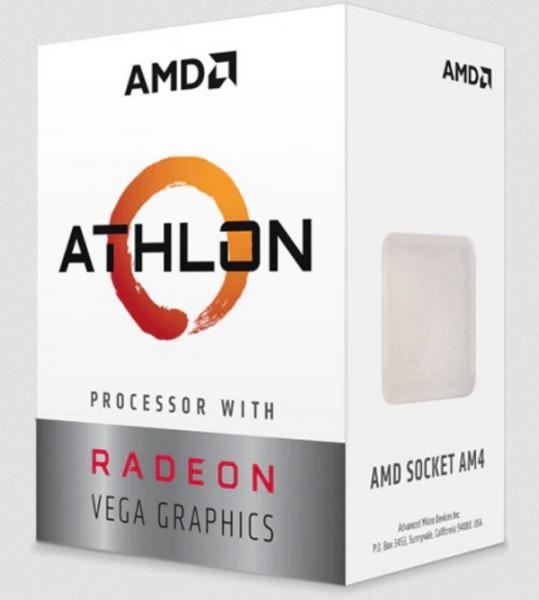 Amd Athlon 3000g 2 Core 4 Threads 3.5ghz 5mb Cache Socket Am4 35w Wit (YD3000C6FHBOX)