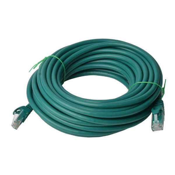 8ware 8ware Cat6a Utp Ethernet Cable 40m Snaglessgreen (PL6A-40GRN)