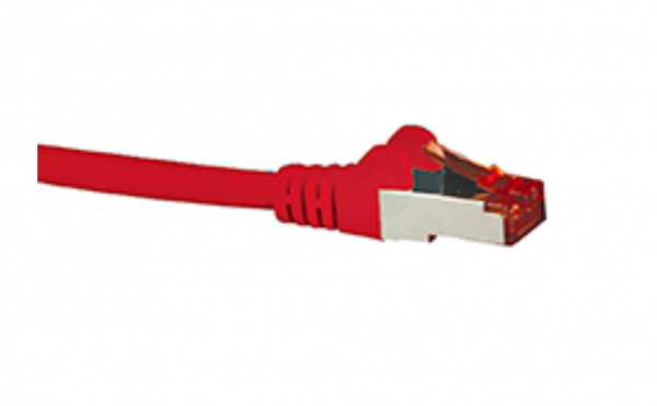 Hypertec Cat6a Shielded Cable 2m Red Color 10gbe Rj45 Ethernet Network Lan (HCAT6ARD2)