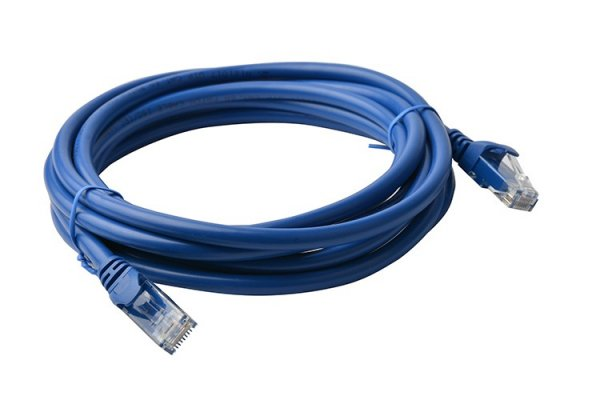 8ware 8ware Cat6a Utp Ethernet Cable 5m Snaglessblue (PL6A-5BLU)