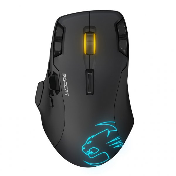 Roccat Roccat Leadr Wireless Multi-button Rgb Gaming Mouse (ROC-11-852-AS)