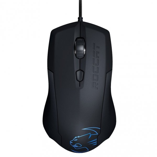 Roccat Roccat Lua Tri-button Gaming Mouse Black - Upto 2000dpi Arctic Bl (ROC-11-310-AS)