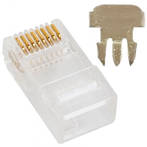 Astrotek Cat6e Utp -rj45 Connector 8p8c Network Plug 3 Prong Blade 3u' Hea (ATP-8P8C-6-3)