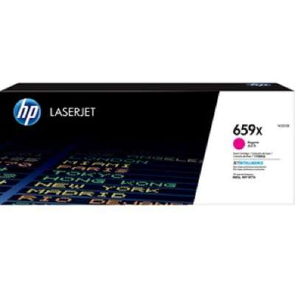 Hewlett Packard Hp 659x Magenta Laserjet Toner Cartridge For M776 M856 - 29k (W2013X)
