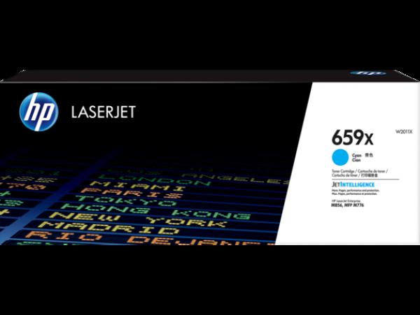 Hewlett Packard Hp 659x Cyan Laserjet Toner Cartridge For M776 M856 - 29k (W2011X)