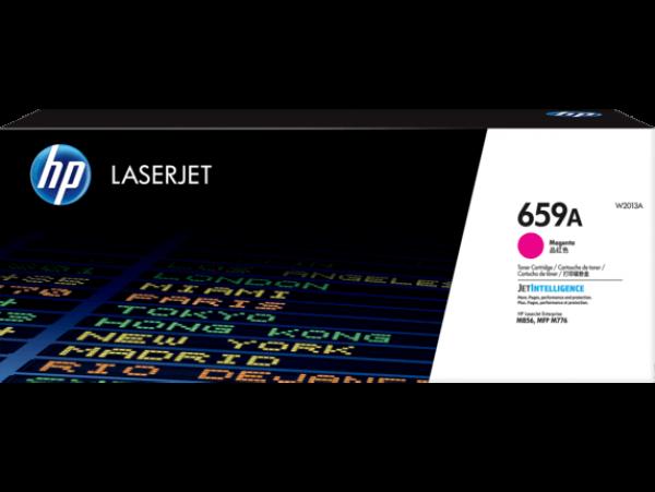 Hewlett Packard Hp 659a Magenta Laserjet Toner Cartridge For M776 M856 - 13k (W2013A)