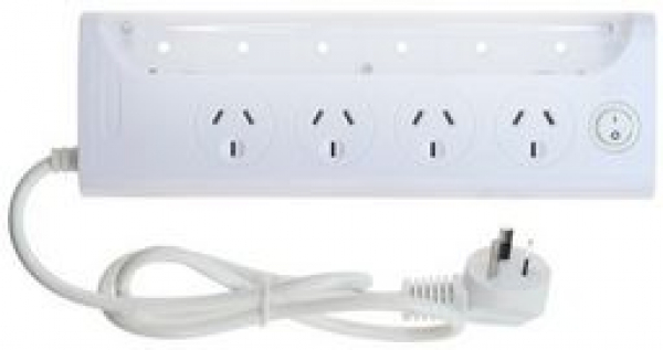 Jackson 4 Way Powerboard With Led Light Strip (PT0386)