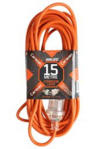 Arlec Caravan Power Extention Lead - 15 Metre (CEL15)