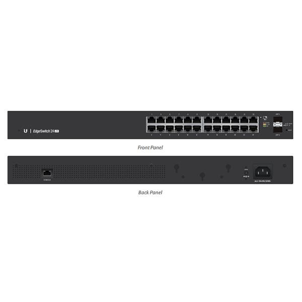 Ubiquiti Edgeswitch Managed Gigabit Switch 24 Port With Sfp 24 Port (ES-24-LITE-AU)
