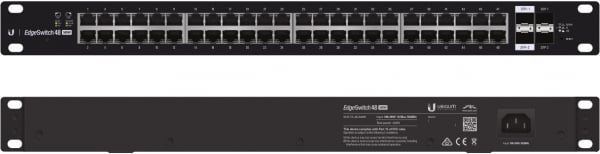 Ubiquiti Edgeswitch Managed Poe+ Gigabit Switch 48 Port 500w (ES-48-500W-AU)