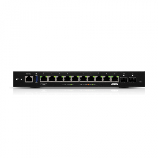 Ubiquiti Edgerouter 12 - 10-port Gigabit Router With Poe Passthrough And 2 (ER-12)