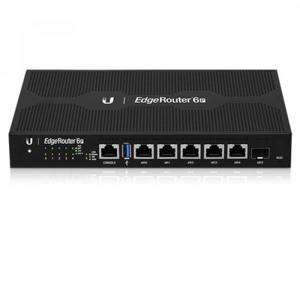 Ubiquiti Edgerouter 6-port Firewall Router With 24v Poe Output (ER-6P)