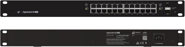 Ubiquiti Edgeswitch Managed Poe+ Giga Switch 24 Port 250w (ES-24-250W-AU)