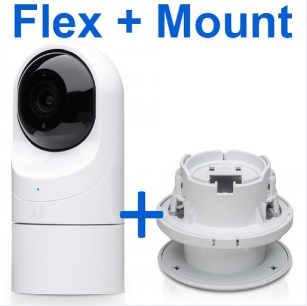 Ubiquiti Unifi Protect  G3 Flex + Flex Ceiling Mount (UP-FLEX-MNT-BUN)