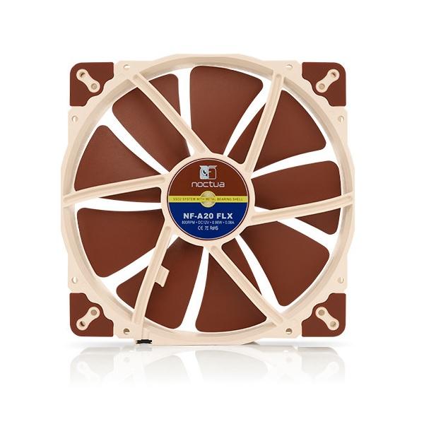 Noctua 200mm Nf-a20 Flx 800rpm Fan (NF-A20-FLX)