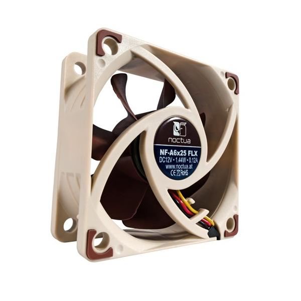 Noctua 60mm Nf-a6x25 Flx 3000rpm Fan (NF-A6x25-FLX)